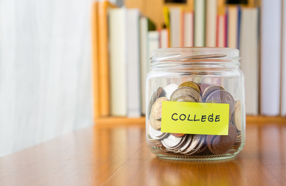 College Saving's Jar